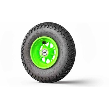 Skike Wheel 8 inch MAJOR GRIP green rim 12SG-MG