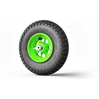 Skike Wheel 8 inch MAJOR GRIP green with reverse lock 12SG-MG-RLS